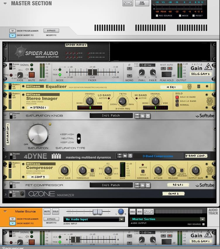 reason mastering tools and utilities